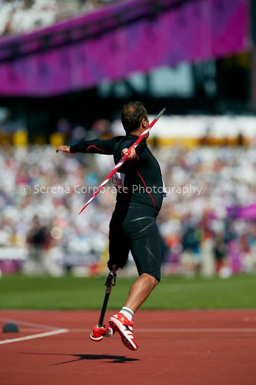 London Paralympic Games - Athletics 7.9.12.