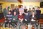 Last night of the Winter Cards Games, pictured here at the Shebeen Bar Cahersiveen 31 Card Drive in aid of the Liberator Rowing Club, front l-r, Mike McGillicuddy, Tom Keane, Donal Tommy O'Sullivan, Paddy O'Neill, Gerry Clifford, back l-r; Bat Moriarty, John Joe O'Mahony, Denis O'Shea, Niall Lyons, Padraig Fogarty, P.J. O'Sullivan, Mike Murphy, Michael O'Connell, Denis Curran & missing from the photo Tony Horgan & Patrick Kelly.