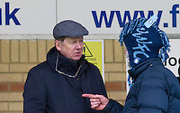 BBC Presenter Bill Turnbull during the Sky Bet League 2 match between Wycombe Wanderers and Exeter City at Adams Park, High Wycombe, England on 13 February 2016. Photo by Massimo Martino.