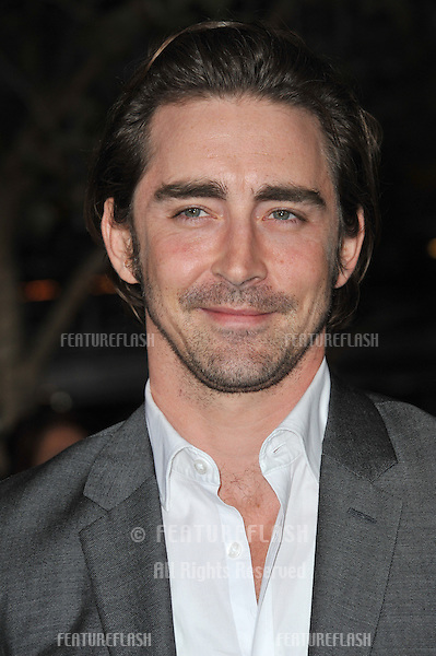 "Lee Pace at the world premiere of ""The Twilight Saga: Breaking Dawn - Part 1"" at the Nokia Theatre, L.A. Live in downtown Los Angeles..November 14, 2011  Los Angeles, CA.Picture: Paul Smith / Featureflash"