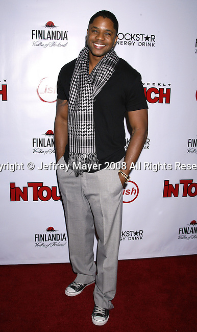 Actor Hosea Chanchez arrives at the In Touch Weekly and Ish Entertainment To Host Summer Stars Party 2008 on May 22, 2008 at Social Hollywood in Hollywood, California.