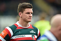 Freddie Burns of Leicester Tigers looks on after the match. Aviva Premiership match, between Leicester Tigers and Sale Sharks on April 29, 2017 at Welford Road in Leicester, England. Photo by: Patrick Khachfe / JMP