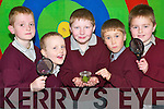 Critter watch: Taking a closer look at some creepy crawlies at Scoil Naomh Brid in Duagh on Thursday were pupils Denis O'Keeffe (2nd class), Steven O'Connor (1st class), Jordan Browne (4th class), Thomas Dore and Jack Dillon (1st class).   Copyright Kerry's Eye 2008
