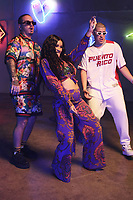 MIAMI, FLORIDA - MAY 29, 2018 J Balvin, Cardi B &amp; Bad Bunny on the set of the I Like It video shoot March 28, 2018 in Miami, Florida. <br /> CAP/MPI/WG<br /> &copy;WG/MPI/Capital Pictures