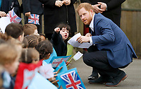 Prince Harry Visit to St Vincent's Catholic Primary School