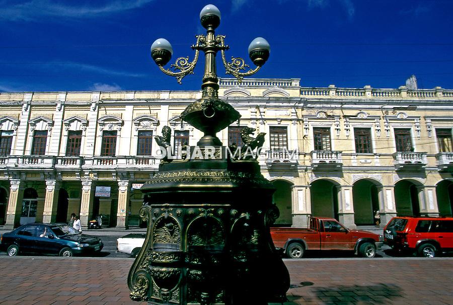 Cidade de Riobamba. Equador. Foto de Juca Martins. Data. 1997.