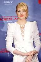 Emma Stone (wearing an Andrew Gn dress) attending the Germany premiere of the movie The Amazing Spider-Man at CineStar Sony Center in Berlin. Berlin, 20.06.2012..Credit: Timm/face to face /MediaPunch Inc. ***Online Only for USA Weekly Print Magazines*** NORTEPOTO.COM<br />
