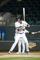 Craig Dedelow (26) of the Winston-Salem Dash at bat against the Lynchburg Hillcats at BB&T Ballpark on May 9, 2019 in Winston-Salem, North Carolina. The Dash defeated the Hillcats 4-1. (Brian Westerholt/Four Seam Images)