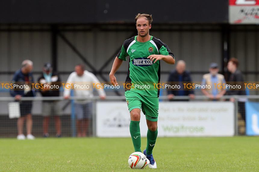 Scott Doe of Dagenham during Bedford Town vs Dagenham & Redbridge, Friendly Match Football at The Eyrie on 15th July 2017