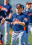 4 March 2016: Houston Astros infielder Alex Bregman warms up prior to a Spring Training pre-season game against the St. Louis Cardinals at Osceola County Stadium in Kissimmee, Florida. The Astros defeated the Cardinals 6-3 in Grapefruit League play. Mandatory Credit: Ed Wolfstein Photo *** RAW (NEF) Image File Available ***