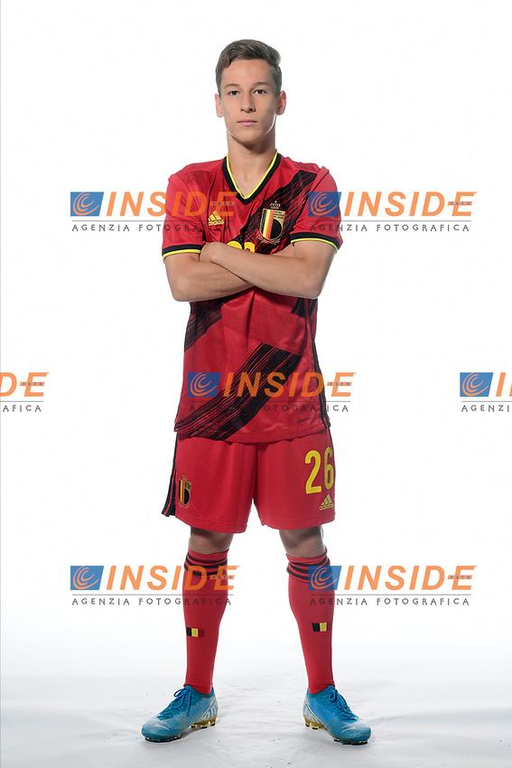Yari Verschaeren midfielder of Belgium  <br /> Tubize 12/11/2019 <br /> Calcio presentazione della nuova maglia della Nazionale del Belgio <br /> Photo De Voecht  Kalut/Photonews/Panoramic/insidefoto<br /> ITALY ONLY