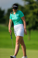 Olivia Mehaffey (Ireland) during final day of the World Amateur Team Championships 2018, Carton House, Kildare, Ireland. 01/09/2018.<br /> Picture Fran Caffrey / Golffile.ie<br /> <br /> All photo usage must carry mandatory copyright credit (© Golffile | Fran Caffrey)