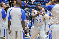 December 12, 2015 - Colorado Springs, Colorado, U.S. -  Air Force guard, Trevor Lyons #20, is introduced prior to an NCAA basketball game between the Army West Point Black Knights and the Air Force Academy Falcons at Clune Arena, U.S. Air Force Academy, Colorado Springs, Colorado.  Army West Point defeats Air Force 90-80.