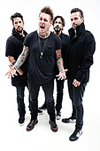Oct 21, 2014: PAPA ROACH - Photosession in London