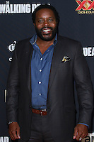 UNIVERSAL CITY, CA, USA - OCTOBER 02: Chad L. Coleman arrives at the Los Angeles Premiere Of AMC's 'The Walking Dead' Season 5 held at AMC Universal City Walk on October 2, 2014 in Universal City, California, United States. (Photo by David Acosta/Celebrity Monitor)