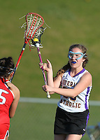 Girls Varsity Lacrosse vs. Center Grove 4-14-16