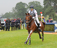 Blair Atholl, Scotland, UK. 12th September, 2015. Longines  FEI European Eventing Championships 2015, Blair Castle. Sarah Bullimore (GBR) riding Lilly Corinn during the Cross country phase © Julie Priestley