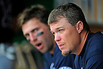 12 April 2008: Atlanta Braves' third baseman Chipper Jones awaits his at bat in the dugout during a game against the Washington Nationals at Nationals Park, in Washington, DC. The Braves defeated the Nationals 10-2...Mandatory Photo Credit: Ed Wolfstein Photo
