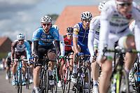 Aidis Kruopis (LVA/Veranda's WIllems Crelan) in the peloton.<br /> <br /> 102nd Kampioenschap van Vlaanderen 2017 (UCI 1.1)<br /> Koolskamp - Koolskamp (192km)