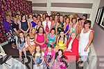 Joan Cronin, Kilbrean, Killarney, pictured with her daughters Katie, Mags, Marie and Sinead, family and friends as she celebrated her 50th birthday in Paddys Restaurant, Killarney on Saturday night....