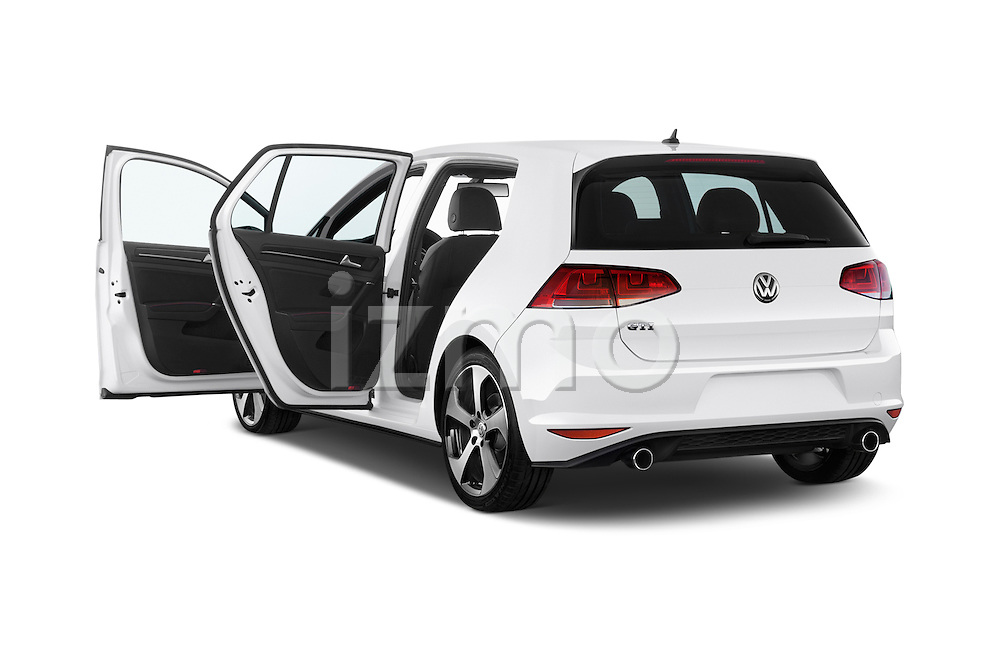 Car images of a 2015 Volkswagen GTI DSG SE PZEV 5 Door Hatchback Doors