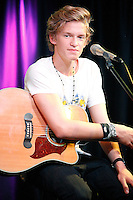 Cody Simpson visits Q102's iHeart Radio Performance Theater in Bala Cynwyd, Pa on August 10, 2012  © Star Shooter / MediaPunchInc /NortePhoto.com*<br />
