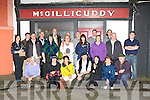 The group who went on a historical Pub trail around Castleisland on Saturday night as part of the East Kerry Roots festival..
