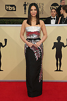 LOS ANGELES, CA - JANUARY 21: Olivia Munn at The 24th Annual Screen Actors Guild Awards at The Shrine Auditorium on January 21, 2018 in Los Angeles, California. Credit: FSRetna/MediaPunch