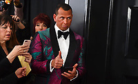 Alex Rodriguez arrives at the 61st annual Grammy Awards at the Staples Center on Sunday, Feb. 10, 2019, in Los Angeles. (Photo by Jordan Strauss/Invision/AP)