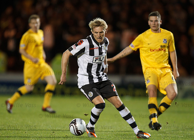 Gary Teale on the attack for St Mirren