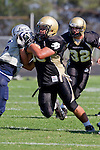 Palos Verdes, CA 09/09/11 - Joey Augello (Peninsula #58) in action during the North Torrance-Peninsula Panthers varsity football game.