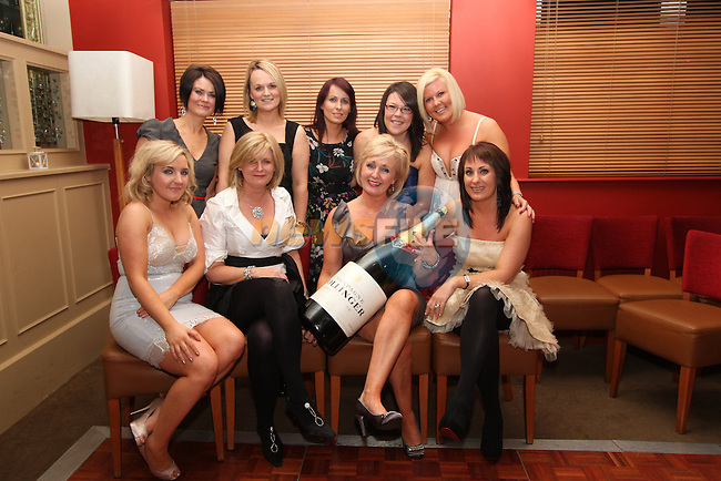 Anne McKeon and friends from Mahers Chemist at her birthday in Harry's...(Photo credit should read Jenny Matthews www.newsfile.ie)....This Picture has been sent you under the conditions enclosed by:.Newsfile Ltd..The Studio,.Millmount Abbey,.Drogheda,.Co Meath..Ireland..Tel: +353(0)41-9871240.Fax: +353(0)41-9871260.GSM: +353(0)86-2500958.email: pictures@newsfile.ie.www.newsfile.ie.