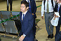 Yuto Nagatomo (JPN), JUNE 27, 2014 - Football / Soccer : Japanese national soccer team are seen upon arrival back from the World Cup 2014 Brazil at Narita International Airport in Narita on Friday, June 27, 2014. (Photo by AFLO SPORT) [1205]