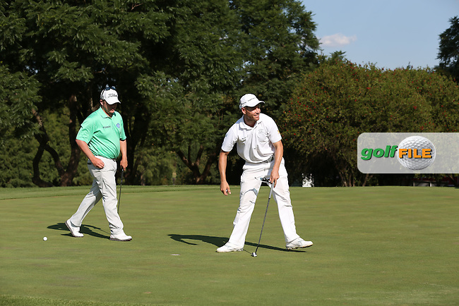 Trevor Fisher Jnr (RSA)  makes birdie on the 17th during the Final Round of the Tshwane Open 2015 at the Pretoria Country Club, Waterkloof, Pretoria, South Africa. Picture:  David Lloyd / www.golffile.ie. 15/03/2015