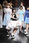 Kiko Mizuhara, Mar 17, 2014 : Kiko Mizuhara attends designer Pim Sukhhuts 'Sretsis' runway JFW A/SW 2014-15 on 17 Mar 2014 Shibuya Hikarie Tokyo Japan