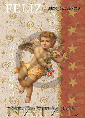 Alfredo, CHRISTMAS CHILDREN, WEIHNACHTEN KINDER, NAVIDAD NIÑOS, paintings+++++,BRTOCH31979CP,#xk# ,angel,angels