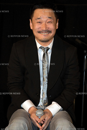 "Actor Wang Jingchun attends the Talk Show of the movie ""To Live and Die in Ordos"" at the 26th Tokyo International Film Festival 2013 in Roppongi Hills Arena, Tokyo, Japan, October 21, 2013. (Photo by Rodrigo Reyes Marin/AFLO)"