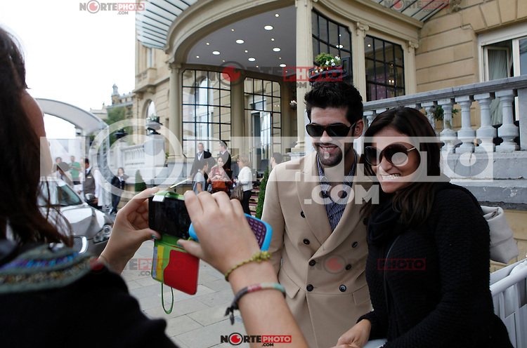 Actor Miguel Angel Muñoz arrives to Maria Cristina Hotel to attend the 61 San Sebastian Film Festival, in San Sebastian, Spain. September 20, 2013. (ALTERPHOTOS/Victor Blanco) /NortePhoto