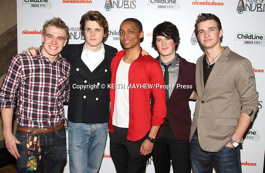 London - Preview screening of Nickelodeon's 'House of Anubis' Season Two at Freemasons Hall, Covent Garden, London - March 11th 2012. .Photo by Keith Mayhew