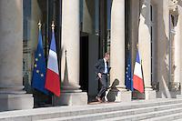 Bernard Bajolet - - Conseil restreint de sÈcurite et de defense ‡ l'Elysee suite a l'attentat de Nice perpetre le 14 juillet.