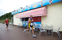 26 SEP 2010 - CLACTON, GBR - Richard Fuller - Clacton Standard Distance Triathlon (PHOTO (C) NIGEL FARROW)