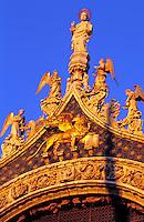 Italy,Venice, Basilca San Marco detail of facade