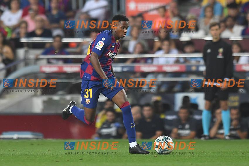 Ansu Fati<br /> 21/01/2016 <br /> Barcelona - Villarreal <br /> Calcio La Liga 2019/2020 <br /> Photo Paco Largo Panoramic/insidefoto <br /> ITALY ONLY