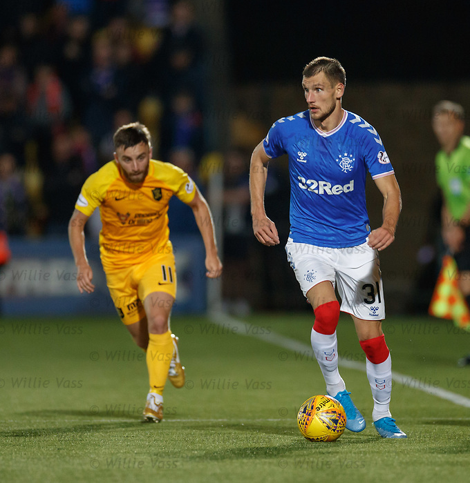 25.09.2018 Livingston v Rangers: Borna Barisic