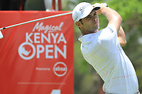 Adri Arnaus (ESP) in action during the third round of the Magical Kenya Open, Karen Country Club, Nairobi, Kenya. 16/03/2019<br /> Picture: Golffile | Phil Inglis<br /> <br /> <br /> All photo usage must carry mandatory copyright credit (&copy; Golffile | Phil Inglis)