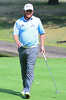 J.B. Holmes (USA) after sinking his putt on 6 during round 2 of the World Golf Championships, Mexico, Club De Golf Chapultepec, Mexico City, Mexico. 3/3/2017.<br /> Picture: Golffile | Ken Murray<br /> <br /> <br /> All photo usage must carry mandatory copyright credit (&copy; Golffile | Ken Murray)