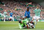 29.04.18 Celtic v Rangers: Craig Gordon saves from Alfredo Morelos
