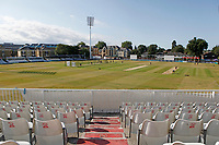 General view of the ground prior to Essex CCC vs Kent CCC, Bob Willis Trophy Cricket at The Cloudfm County Ground on 3rd August 2020