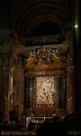 High Altar Carlo Rainaldi Cirro Ferri Relief Miracle of St. Agnes' Hair Alessandro Algardi Ercole Ferrata Domenico Guidi 1688 Ciborium Tabernacle 1123 Sant'Agnese in Agone Piazza Navona Rome