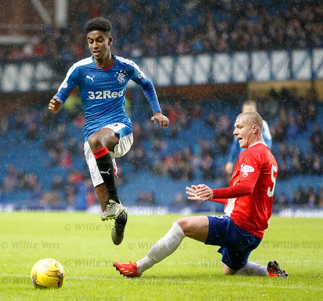 Gedion Zelalem skips past Kenny Adamson